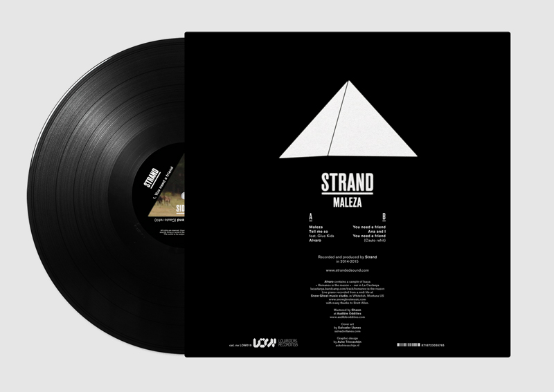 Strand Maleza graphic design by Auke Triesschijn