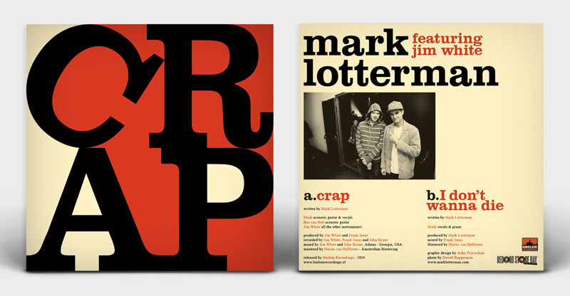 Mark Lotterman CRAP 7 inch cover