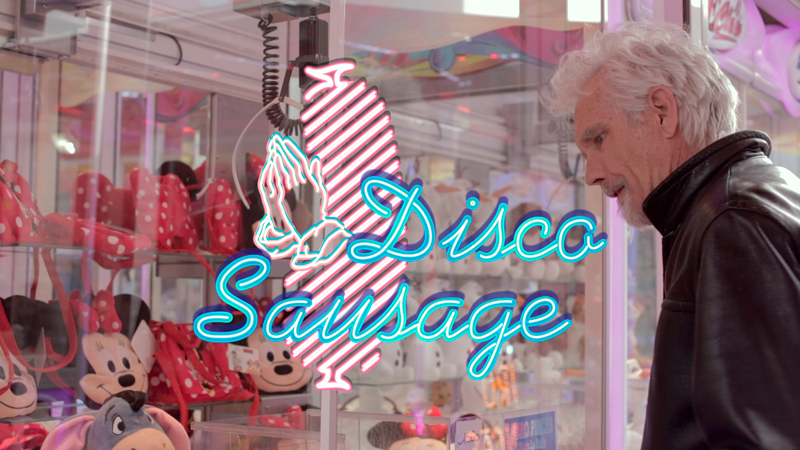 Disco Sausage Johnny Dowd graphics Auke Triesschijn