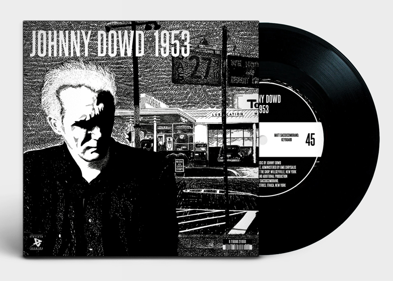Johnny Dowd - 1953 (illustration and design by Studio Auke Triesschijn)
